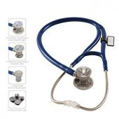 MDF ProCardial Core Cardiology Stainless Steel Dual Head Adult-Pediatric Stethoscope - Royal Blue (MDF797DD04)