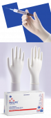 Nulife Latex Examination Non-Powdered, Non Sterile Gloves, Box of 100