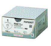PDP359T-1/2 Circle Taper Point CT, 1, 40 mm, PDS PLUS Voilet Monofilament 90 cm